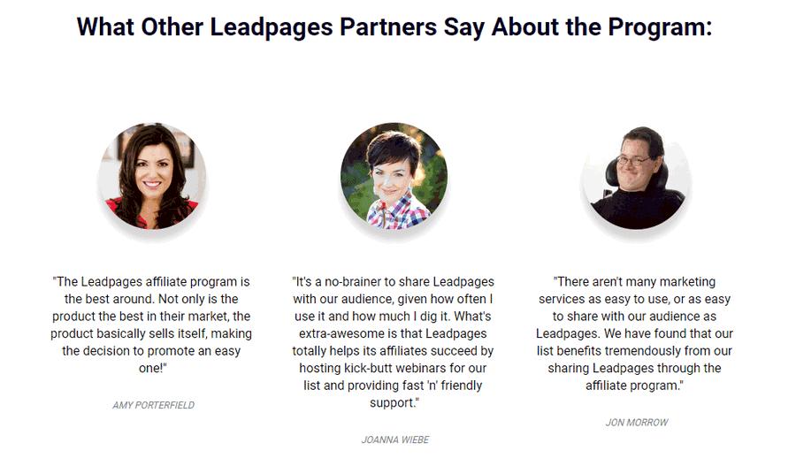 Leadpages Affiliate Program