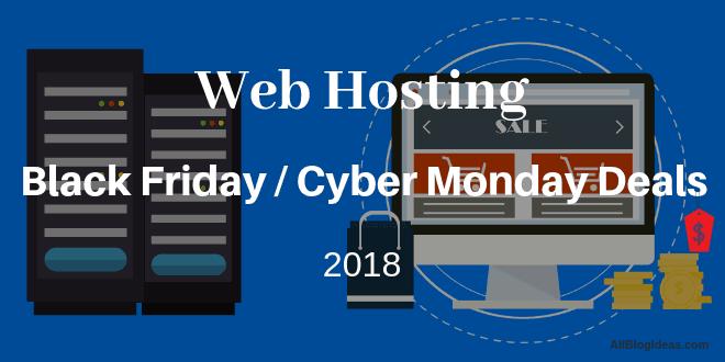 Web Hosting Black Friday Deals 2018
