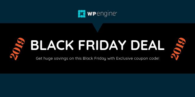 wpengine black friday deal 2019