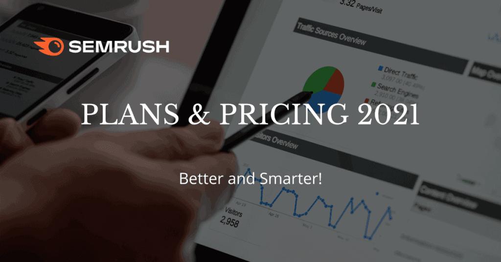 semrush pricing 2021
