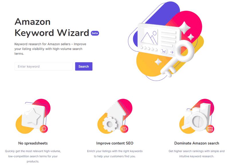 sellzone amazon keyword wizard